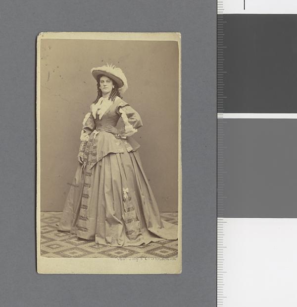 Mina Wallensteen Gustaf Joop & Co. Signum: Kungl. Biblioteket, KoB Sv. P. Gelhaar, Vilhelmina Charlotta (Mina) Fa 3